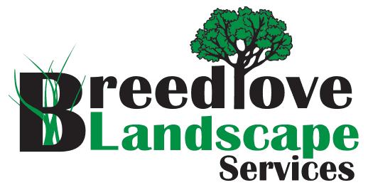 Breedlove Landscaping web logo